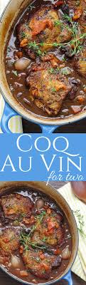 easy meals for two pinterest. coq au vin for two easy meals pinterest