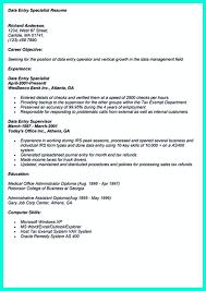 Resume For Data Entry Job Data Entry Job Resume Resume For Study 4