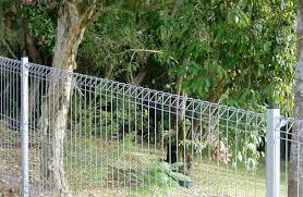 Image of: Wire Garden Fence Panels