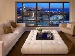 coffee table large white leather ottoman coffee table large coffee table ottoman make a