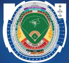 Rogers Skydome Seating Chart 2020 Blue Jays Tickets Flexible Ticket Packs Seating Map