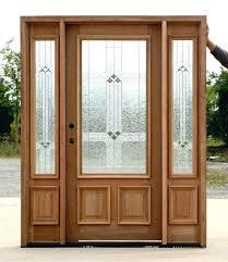 exterior wood doors with glass exterior doors with glass medium size of door glass wooden door