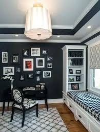 wall color for office. Wall Painting Ideas For Home Office Color Bold Black V