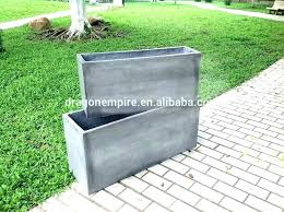large square planters garden wooden cm plastic planter boxes extra for outside c