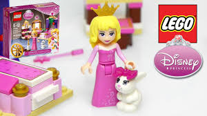 Build A Princess Bed Lego Disney Princess Sleeping Beautys Royal Bedroom Unboxing