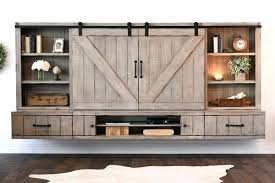 farmhouse tv stand barn door floating stand entertainment center farmhouse farmhouse tv stand 65 inch