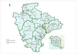 devon county council lgbce Uk Map Devon devon county council image map map of devon uk