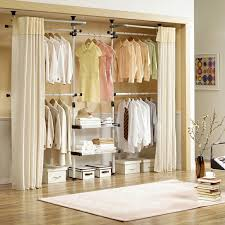 Bedroom Closet Design Ideas Delectable Interior Design Inspiration Curtain Closets Kenisa Home