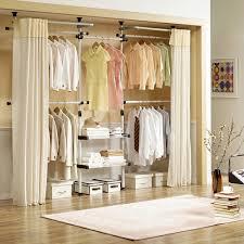 idee dressing avec rideau designmag fr image number 1 of no door closet
