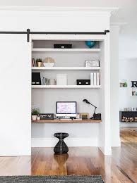 Design Small Office Space Mesmerizing 48 Small Office Nooks That Work Hard In 4818 Office Nooks