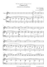 pachelbel canon violin sheet music canon violin sheet music by johann pachelbel violin