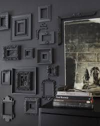 black painted frames remodelista