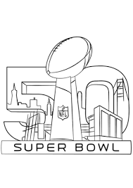 Small Picture Super Bowl 2016 coloring page Free Printable Coloring Pages