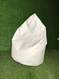 <b>Пуф</b> - белый | Кресла мешки, пуфы в аренду | EventRent