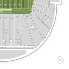 Oregon Ducks Football Autzen Stadium Seating Chart Best