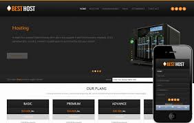 Best Website Templates Fascinating Best Host Domain Sales Mobile Web Template By W28layouts