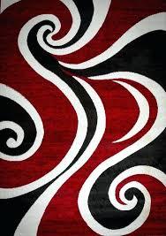 black white area rug red black white area rug black and white damask rug