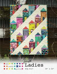 Best 25+ Mini quilts ideas on Pinterest | Quilted wall hangings ... & Fierce Ladies Mini Quilt Pattern Adamdwight.com