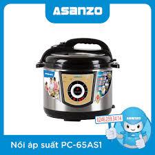 nồi áp suất điện asanzo PC-65AS1 chính hãng, giá rẻ tại Hà Nội
