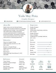 Free Modern Resume Templates Impressive Free Modern Resume And CV Template In Adobe Photoshop Microsoft