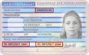 Kaart Documentnummer Id Id Documentnummer