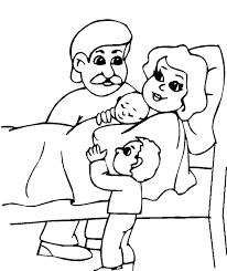 Kleurplaten Van Een Baby