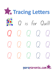 alphabet worksheets handwriting capital letter q