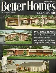 Small Picture Better Homes and Gardens Cover September Gardens and Mid century