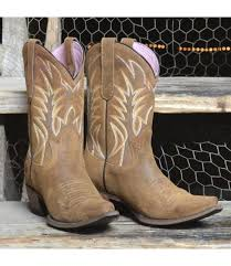 cowboy boot mid calf in brown nubuck dirtroad