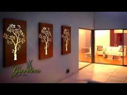 Small Picture Metal wall art Garden Light box YouTube