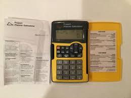 Trip Planner Calculator Avon Project Planner Calculator Home Improvement Do It Yourself New In Box