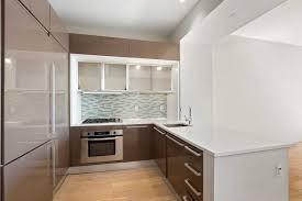 contemporary kitchen office nyc. The Apartment Features A Home Office, One-and-a-half Bathrooms, And Sleek Open Kitchen Allowing Great Flow While Entertaining. Contemporary Office Nyc H