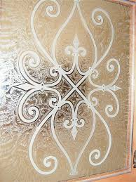 etched glass designs for kitchen cabinets. a close up view of the carved wrought iron motif, kitchen cabinet glass with etched designs for cabinets y