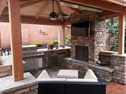 patio tv awesome outdoor fireplace outdoor living outdoor kitchen covered patio