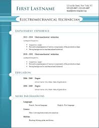 Free Download Resume Templates Cv Template 259 Downloadable All