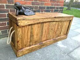 storage chest bench outdoor ikea box