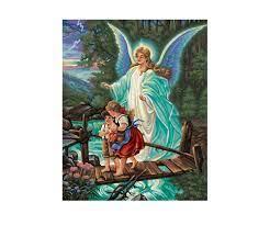 Guardian Angel - Religious motifs - Painting themes -  www.malennachzahlen-schipper.com