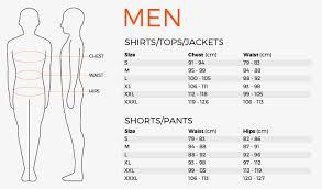 Waist To Knee Measurement Chart Size Charts