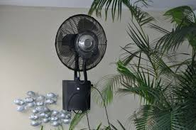Outdoor Standing Fans Image Of Small Outdoor Patio Fans Wall Mount