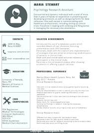 Resume Best Great Examples Very Goodume Format Of S