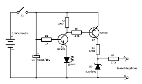 mobile phone travel charger travel mobile phone charger circuit schematic