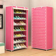 Shoe rack 8 layer 7 grid Non woven fabrics large shoe cabinet organizer  removable shoe storage for home furniture-in Shoe Cabinets from Furniture  on ...