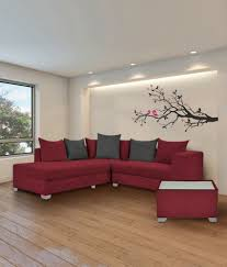 s k furniture mestler maroon sofa set