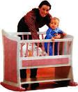 Кроватка качалка для новорожденных своими руками