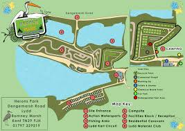 herons park site map