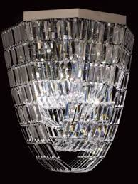 tailynn long octagon led crystal chandelier 0 7m