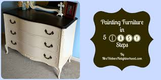 diy painting furniture ideas. Painting Furniture In 5 Easy Steps Diy Ideas