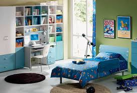 cool kids room decor boys blue and green colours design ideas with simple brown circle carpet