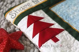Pinwheel Quilt Block - Free Pattern & Tutorial | Craft Passion & Tree Quilt Block Pattern Adamdwight.com
