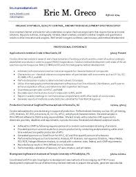 Here Are Analytical Chemist Resume Analytical Chemistry Examples ...